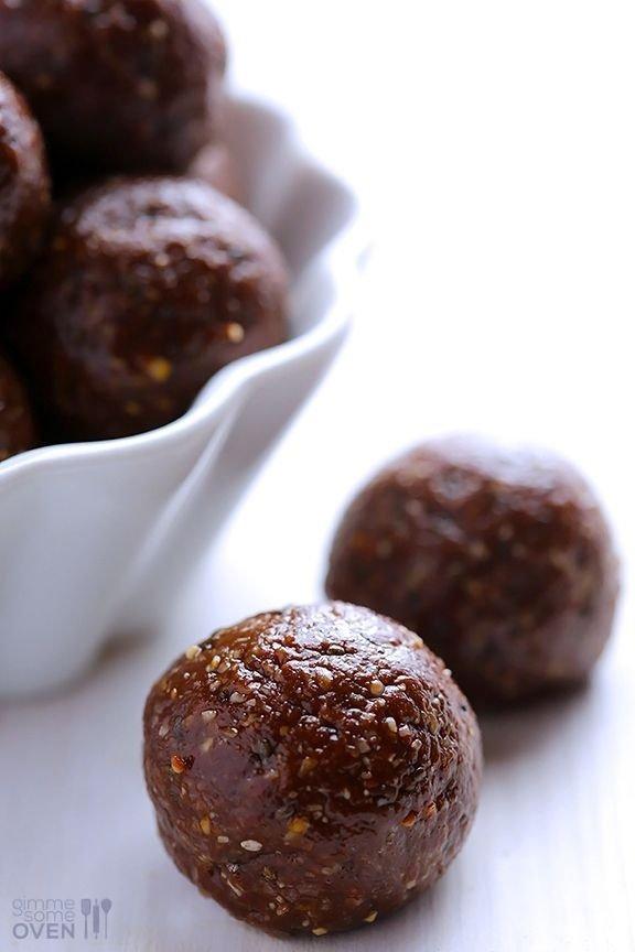 Nutella Energy Bites