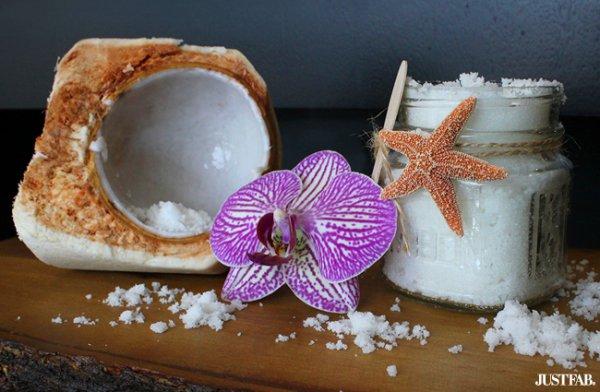 Coconut Oil Orchid Hand Scrub