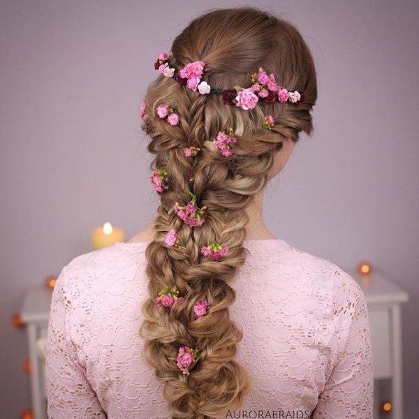 hair, hairstyle, pink, bride, woman,