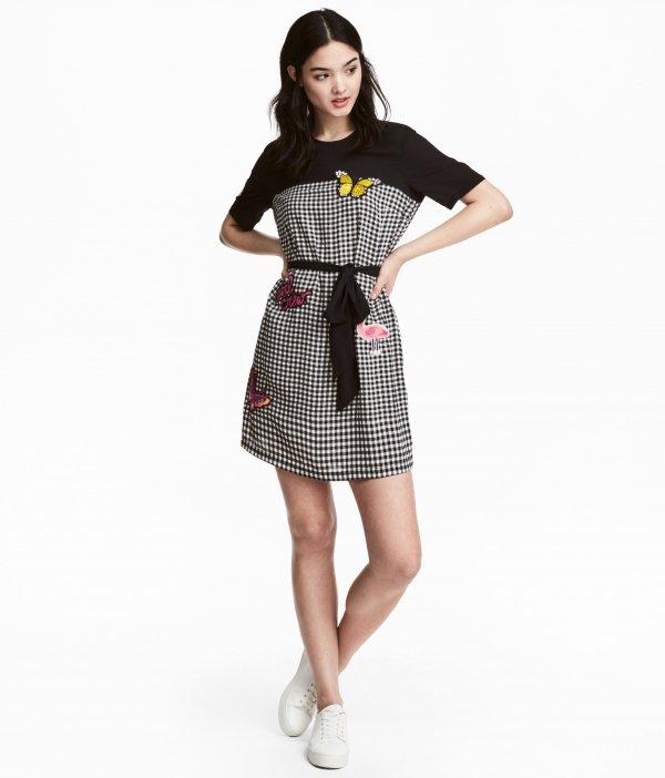 clothing, day dress, sleeve, dress, pattern,