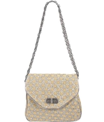Forever21 Checkerboard Box Chain Bag