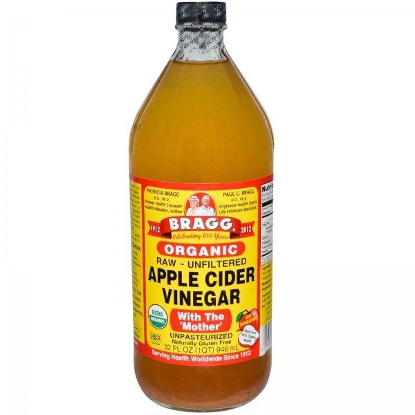 Diluted Apple Cider Vinegar