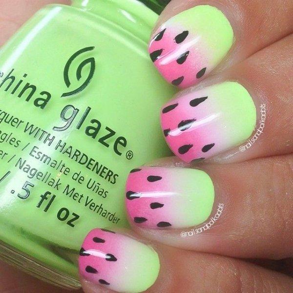 color,nail,pink,finger,green,