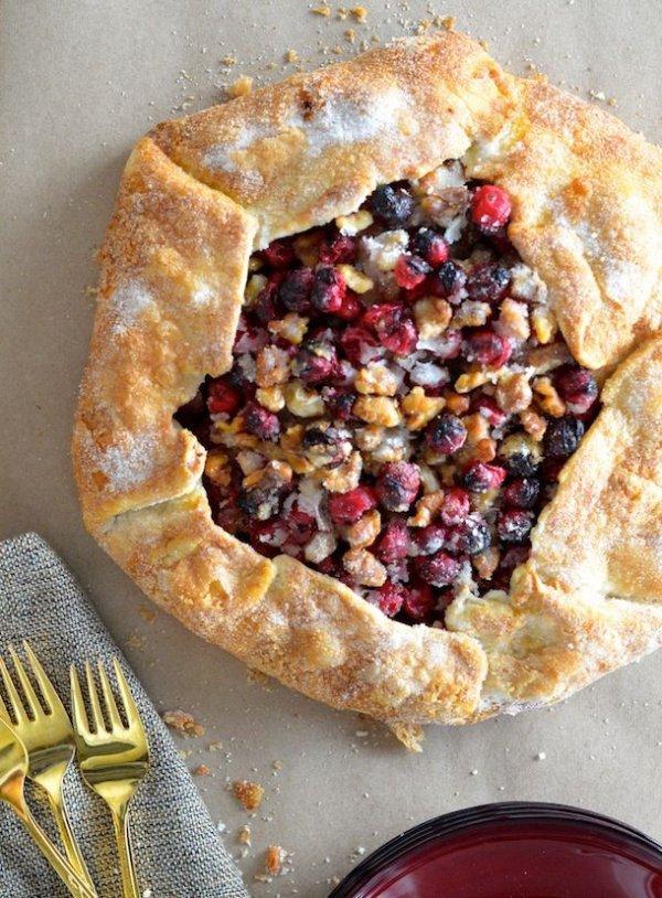 Cranberry Walnut Galette
