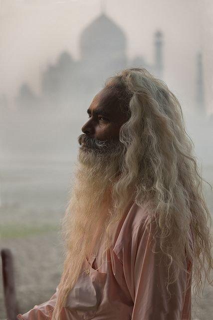 The SĀDHU and the Taj