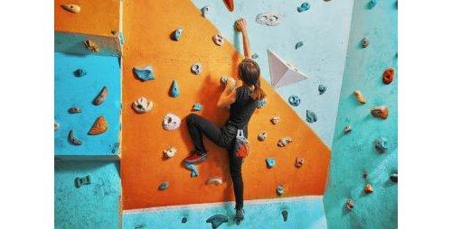 climbing, rock climbing, blue, sports, adventure,