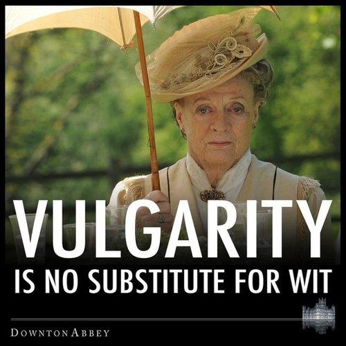 Vulgarity