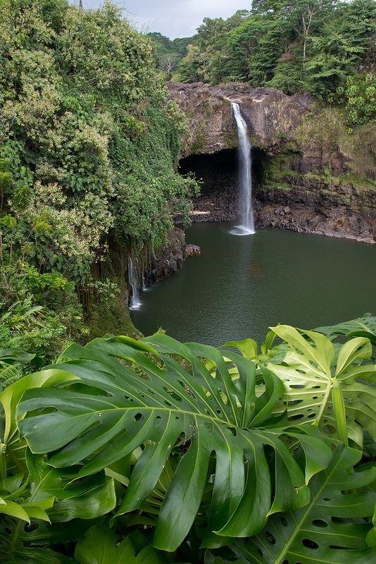 Rainbow Falls, Big Island