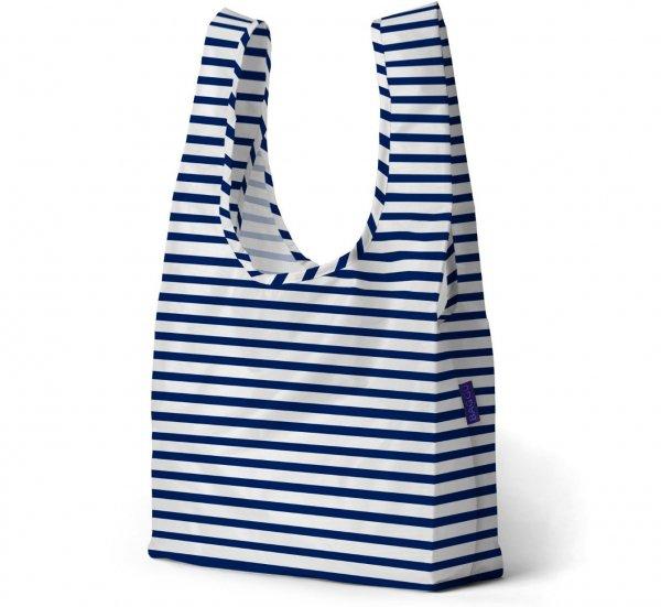Reusable Shopping Bag, Sailor Stripe