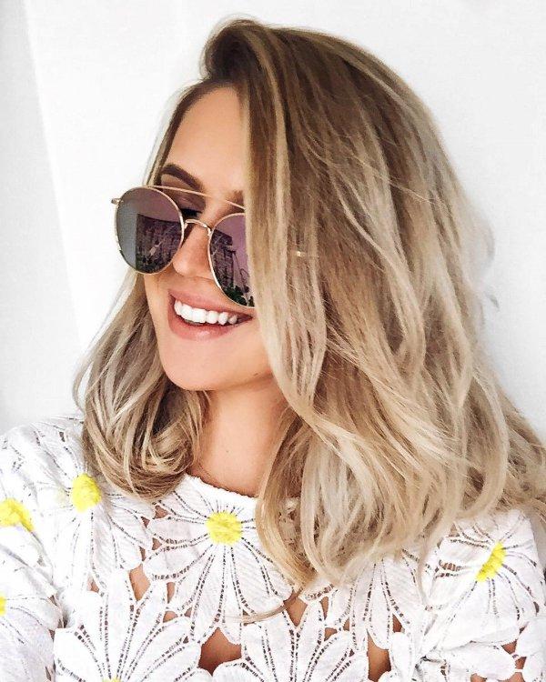 eyewear, sunglasses, vision care, human hair color, blond,