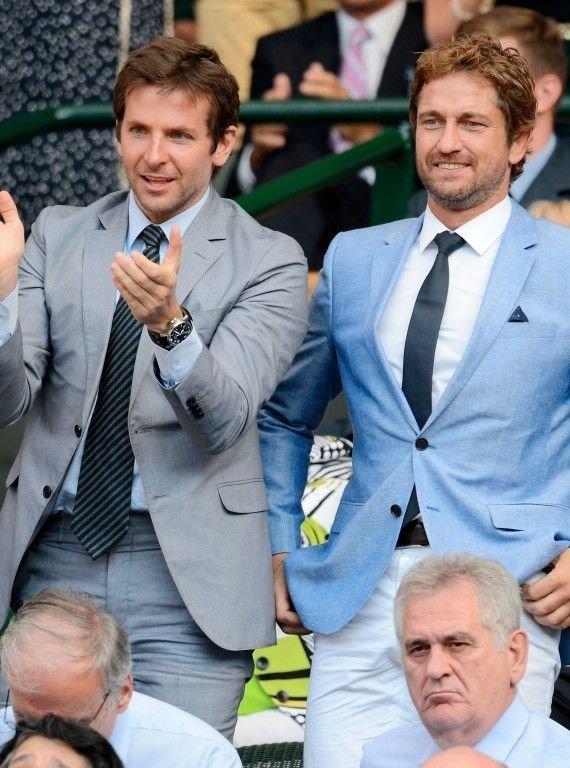 Bradley Cooper & Gerard Butler