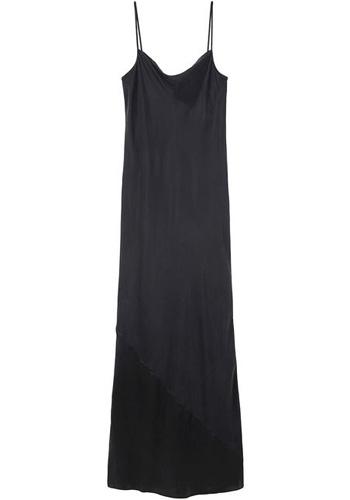 T by Alexander Wang Long Silk Slip Dress