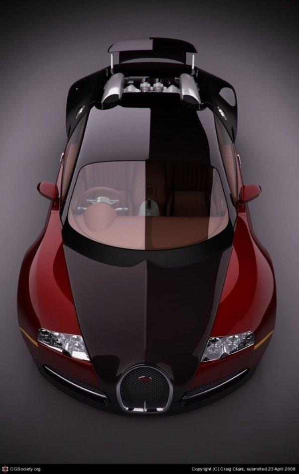 Two Toned Bugatti