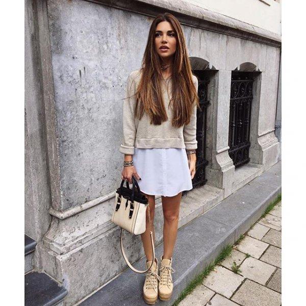 clothing, footwear, leather, sleeve, denim,