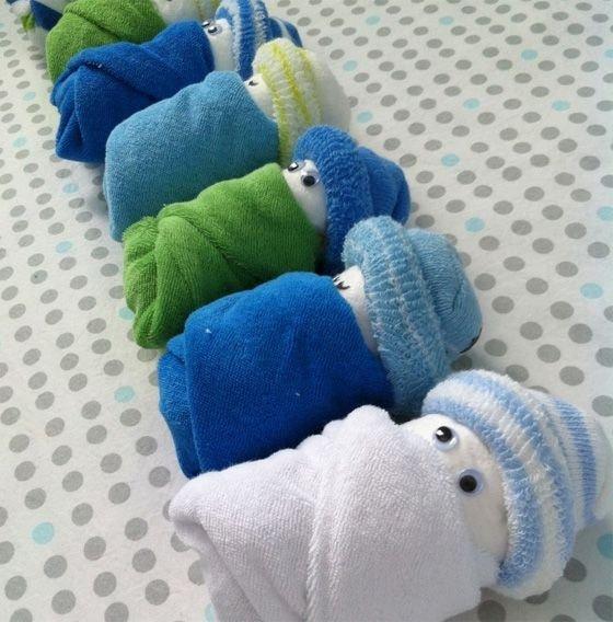 Washcloth Babies