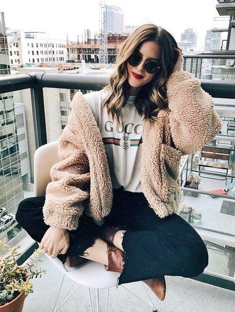 fur clothing, fur, clothing, coat, outerwear,