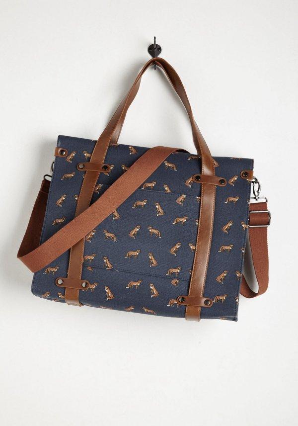Fox-print Bag