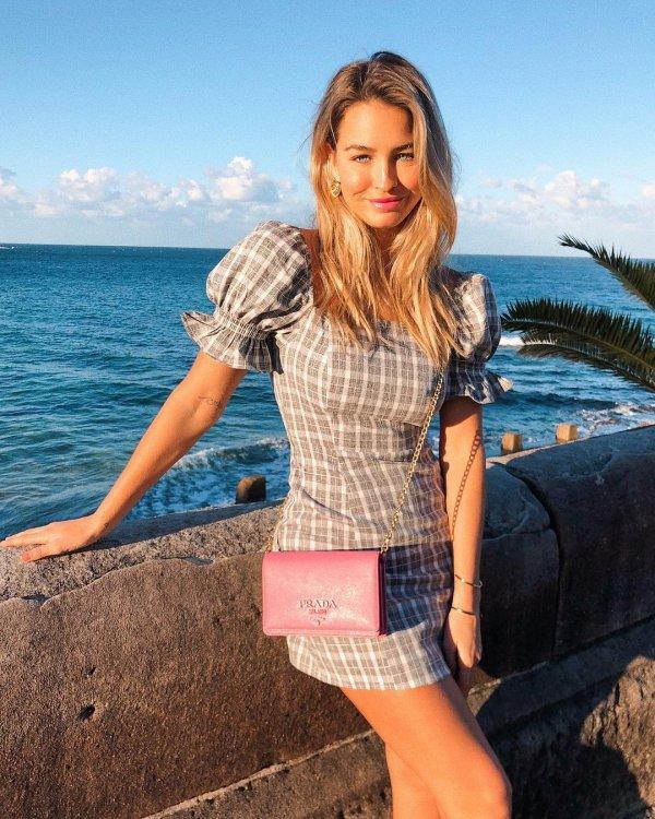 fashion model, photo shoot, vacation, pattern, blond,