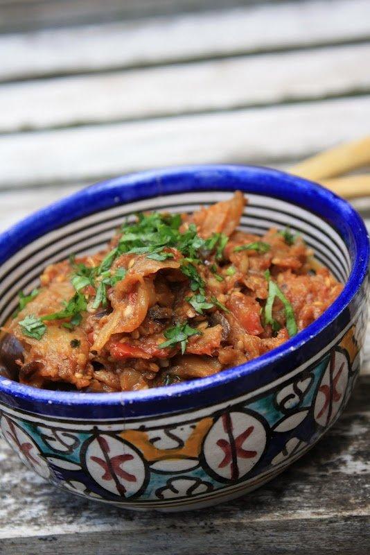 Zaalouk - Serve This Eggplant Dip with Flat Bread