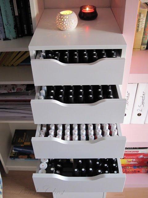 Ikea Nail Polish Storage