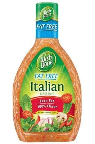 Wish-Bone Fat Free Italian – 20 Calories per 2 Tablespoons