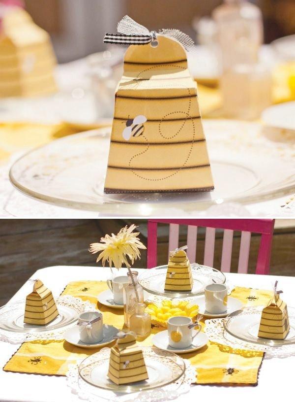 Backyard Bumble Bee Tea Party