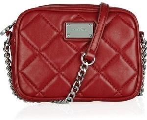 Michael Kors Hamilton Leather Cross-Body Bag