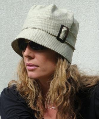Tweed Cloche Hat