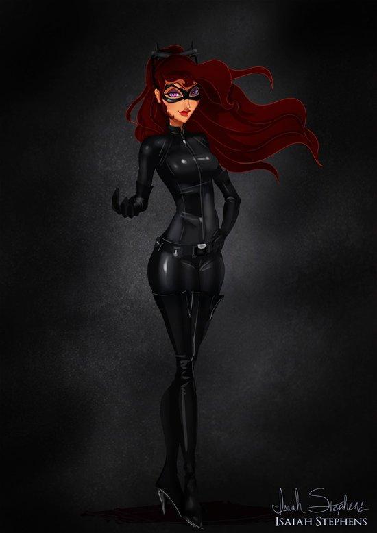 Meg as Catwoman