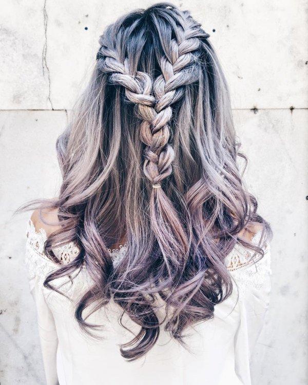 hair, hairstyle, long hair, brown hair, drawing,