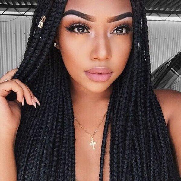 hair, black hair, face, hairstyle, braid,