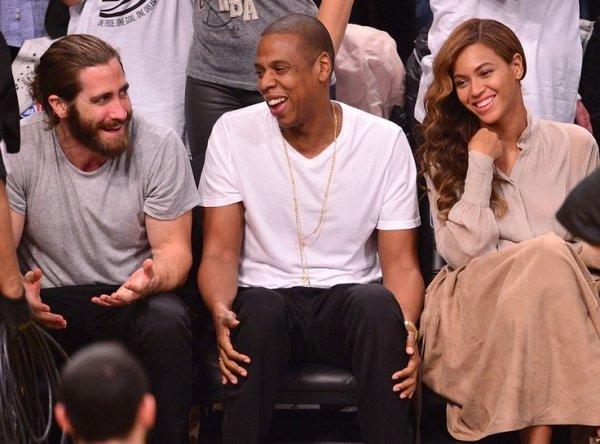 Beyonce, Jay-z, & Jake Gyllenhaal