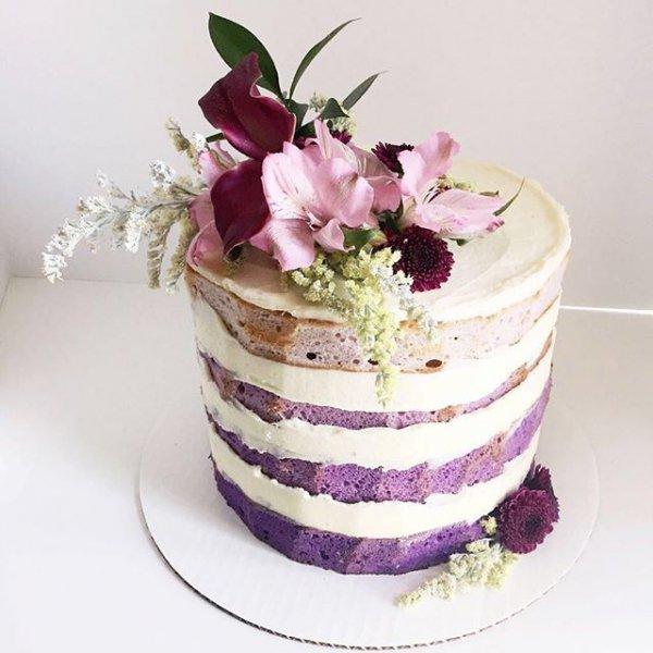 pink, purple, food, wedding cake, cake,
