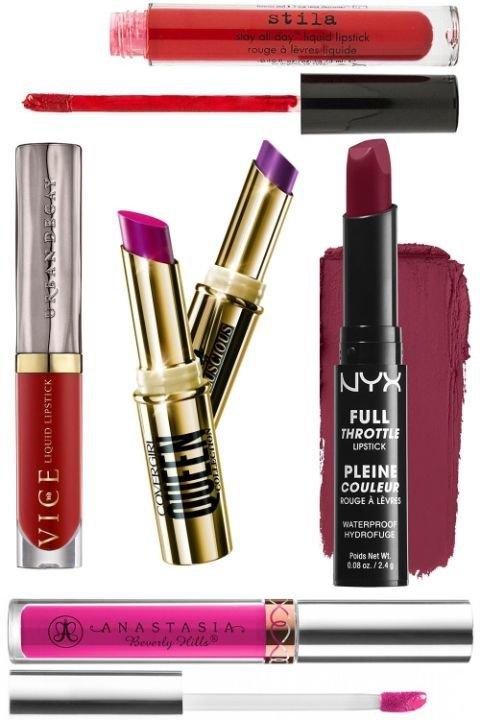 beauty, lip, cosmetics, lip gloss, magenta,