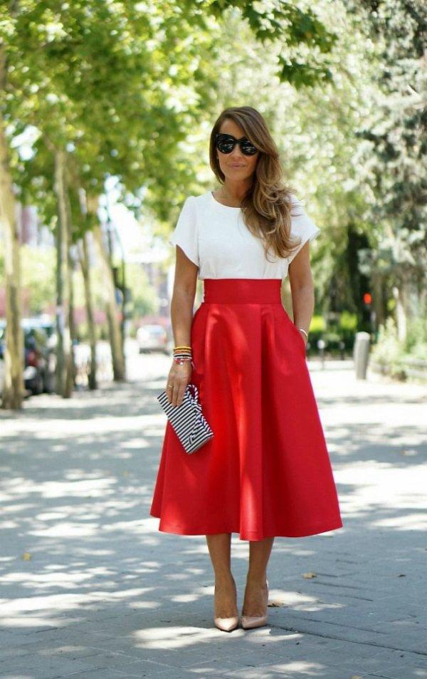 red,clothing,dress,spring,fashion,