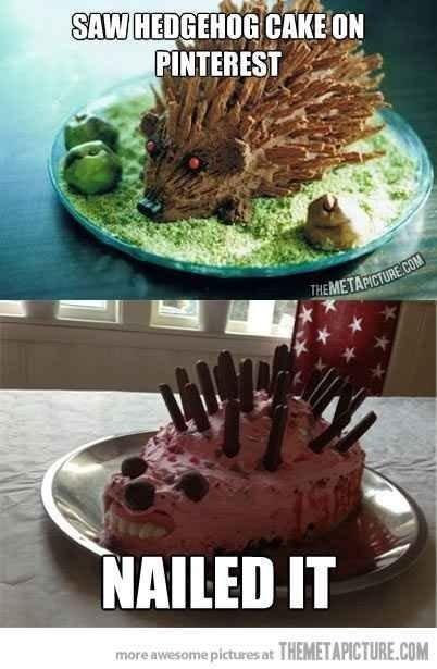 Hedgehog Cake