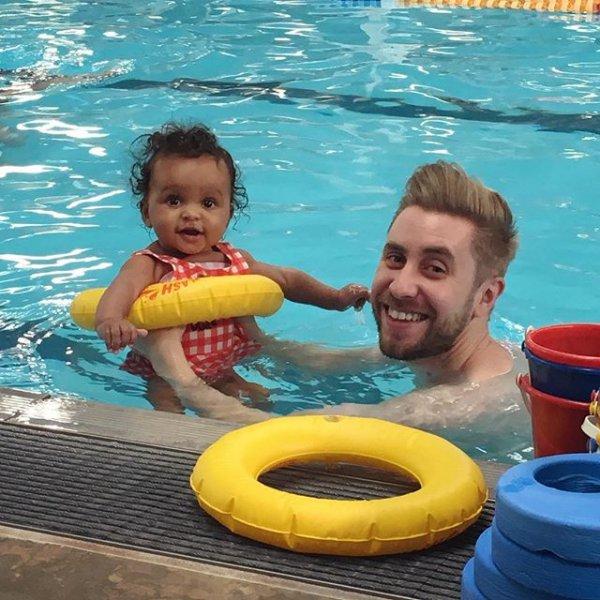 leisure, swimming pool, fun, inflatable, play,
