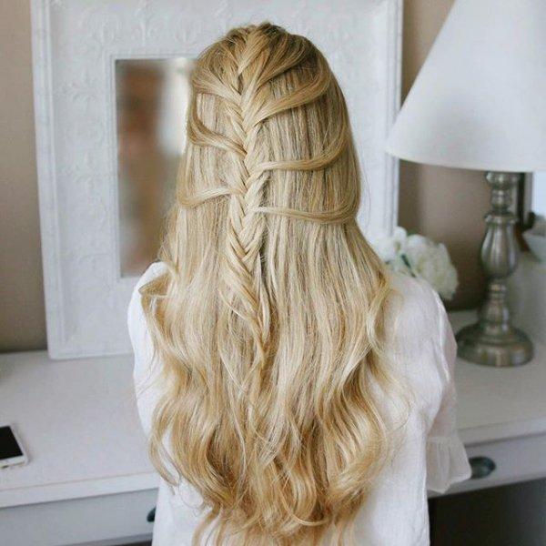 hair, hairstyle, woman, blond, long hair,