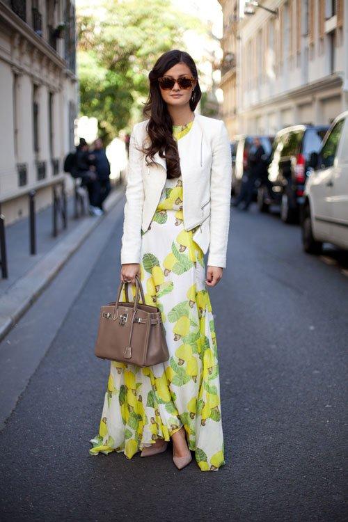 Maxi Dress with Jacket