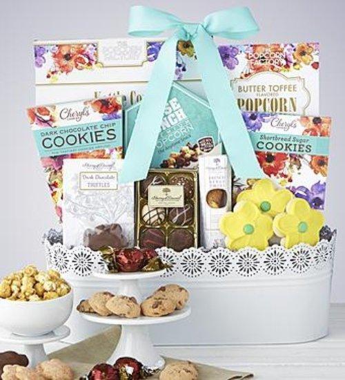 product, gift basket, food, basket, hamper,