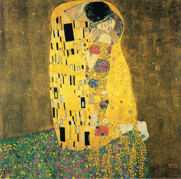 Gustav Klimt's 'the Kiss'