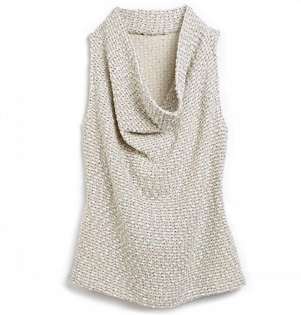 MARSHALLS Cowl Neck Sleeveless Sweater