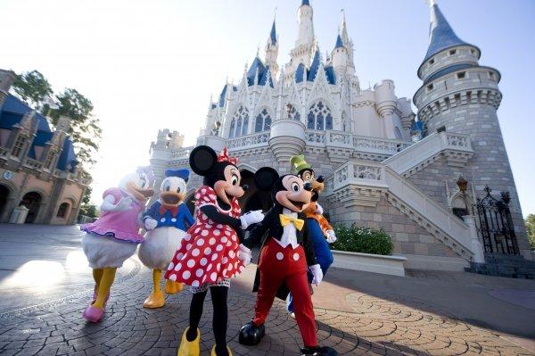 The Magic Kingdom – Orlando, USA