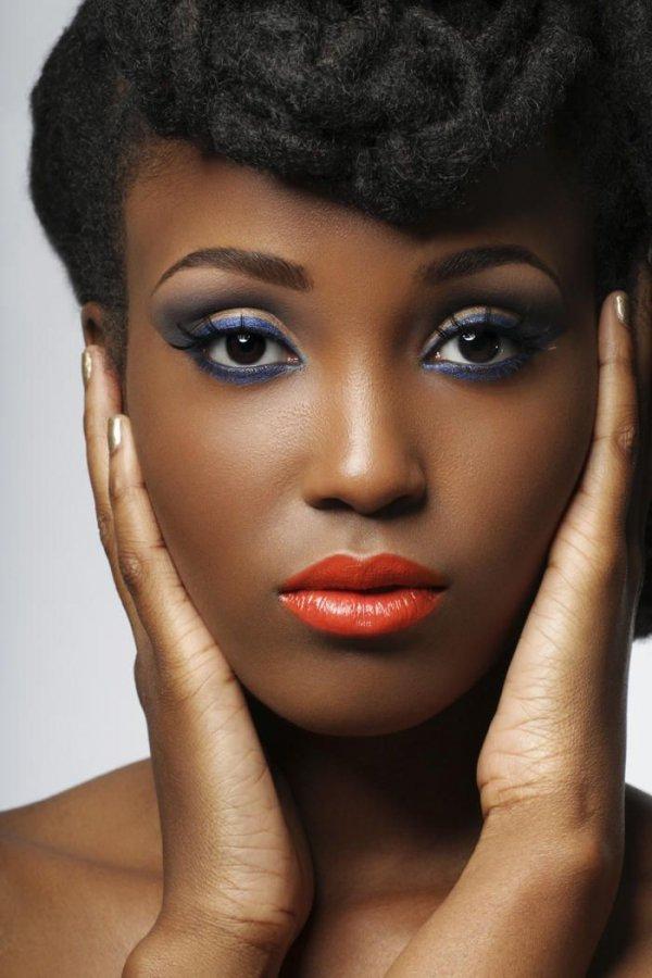 Makeup for black women | Dark skin makeup, Makeup for