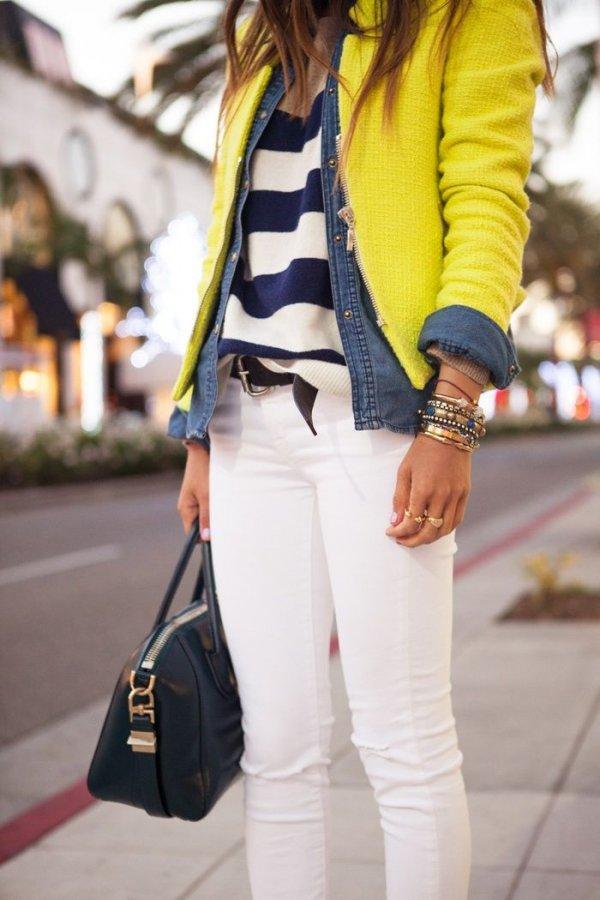 clothing,yellow,footwear,outerwear,jacket,