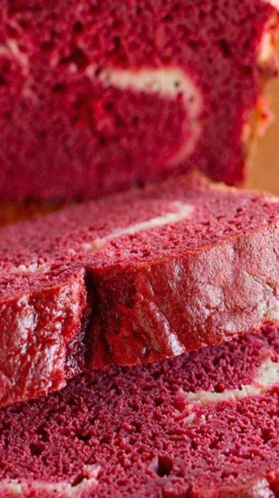 Red Velvet Quick Bread