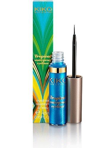 Kiko Cosmetics Tropical Waterproof Eyeliner in Sugarloaf Blue