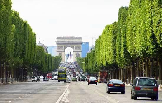 Strut down the Avenue Des Champs-Élysées