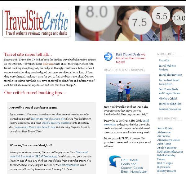 travelsitecritic.com