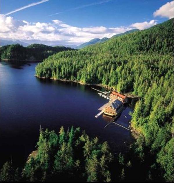King Pacific Lodge, British Columbia, Canada